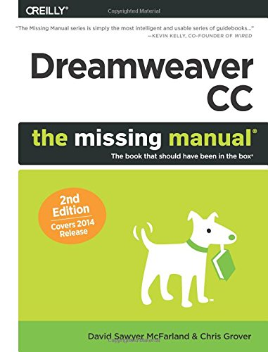 9781491947203: Dreamweaver CC: The Missing Manual: Covers 2014 release (Missing Manuals)