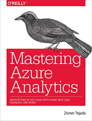 9781491956656: Mastering Azure Analytics: Architecting in the Cloud with Azure Data Lake, HDInsight, and Spark