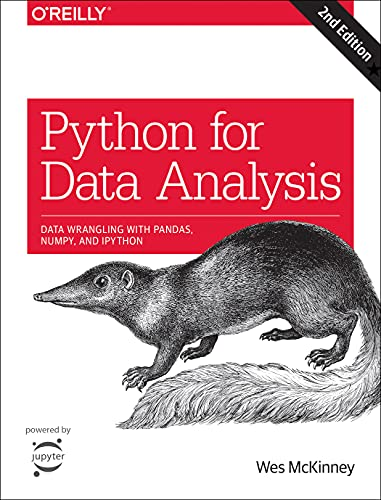 9781491957660: Python for Data Analysis: Data Wrangling with Pandas, NumPy, and IPython