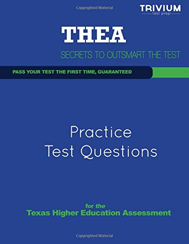 9781492116127: THEA Practice Test Questions