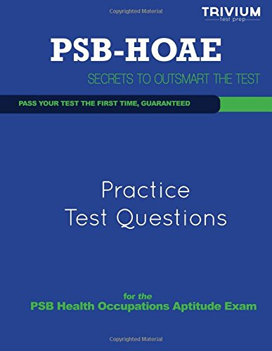 9781492117094: PSB HOAE Practice Test Questions