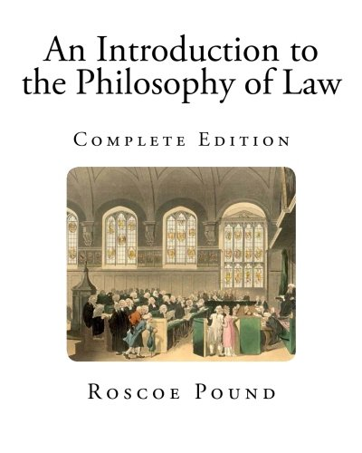 9781492128373: An Introduction to the Philosophy of Law