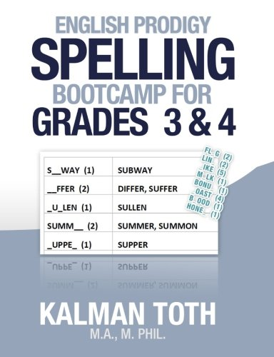 9781492137856: English Prodigy Spelling Bootcamp For Grades 3 & 4