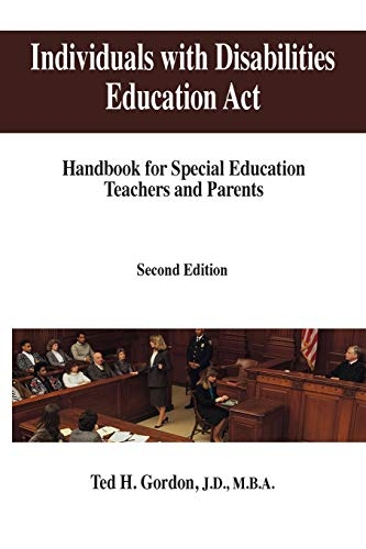 9781492186922: Individuals with Disabilities Education Act: Handbook for Special Education Teachers and Parents
