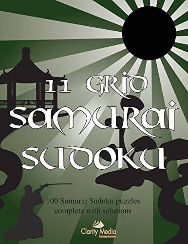 9781492200741: 11 Grid Samurai Sudoku: 100 Samurai sudoku puzzles