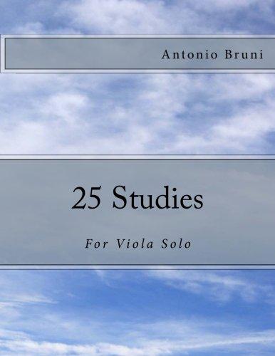 9781492216834: 25 Studies: For Viola Solo
