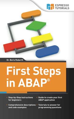 9781492227878 first steps in abap your beginners guide to sap abap rh abebooks com sap abap tutorial beginners pdf Vida SAP ABAP