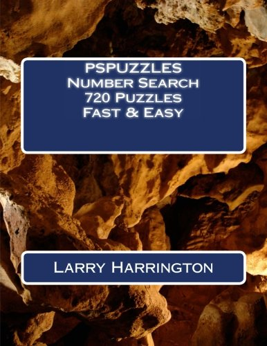 9781492232957: PSPUZZLES Number Search 720 Puzzles Fast & Easy