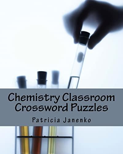 9781492233176: Chemistry Classroom Crossword Puzzles