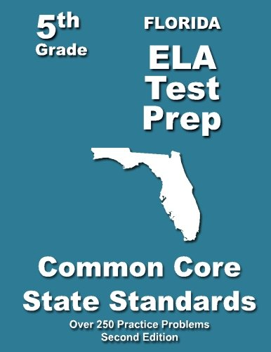 9781492238737: Florida 5th Grade ELA Test Prep: Common Core Learning Standards