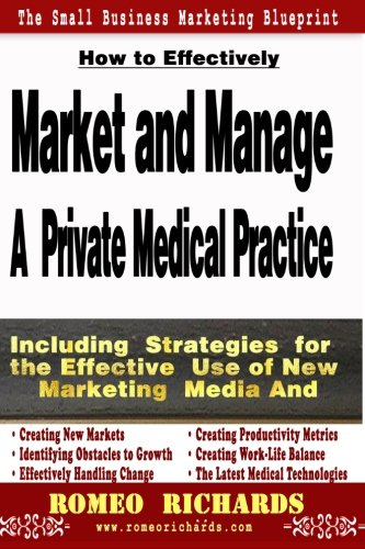 9781492249290: How to Effectively Market and Manage a Private Medical Practice