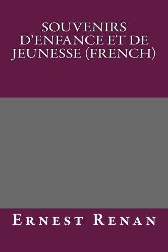 9781492262312: Souvenirs d'enfance et de jeunesse (French)