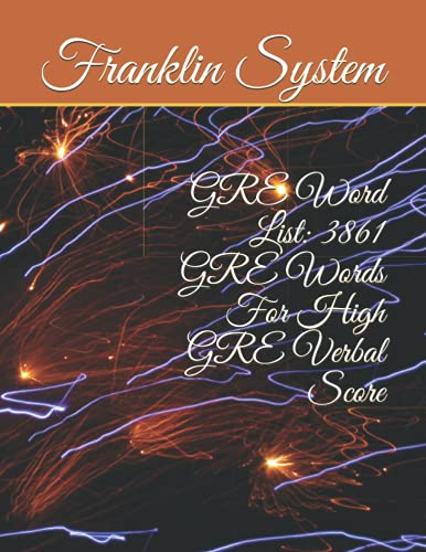 9781492265733: GRE Word List: 3861 GRE Words For High GRE Verbal Score