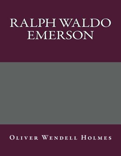 9781492278146: Ralph Waldo Emerson