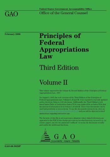 9781492280002: Principles of Federal Appropriations Law: Third Edition Volume II