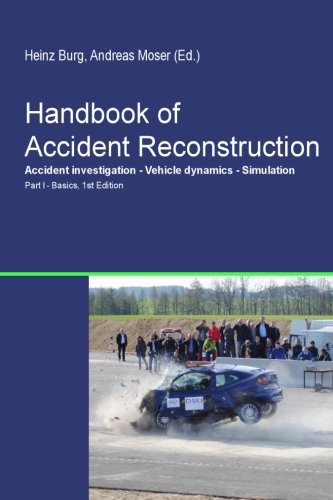 9781492328421: Handbook of Accident Reconstruction
