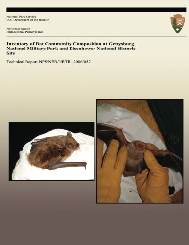 9781492356455: Inventory of Bat Community Composition at Gettysburg National Military Park and Eisenhower National Historic Site