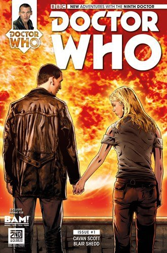 9781492471790: Doctor Who 9th Doctor Issue 1 BAM! Exclusive Variant