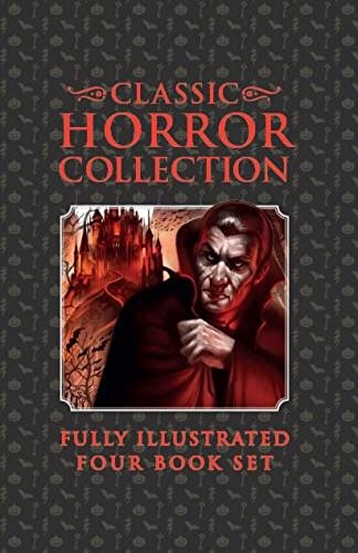 Classic Horror Collection Fully Illustrated Four Book: Bram Stoker, Washington