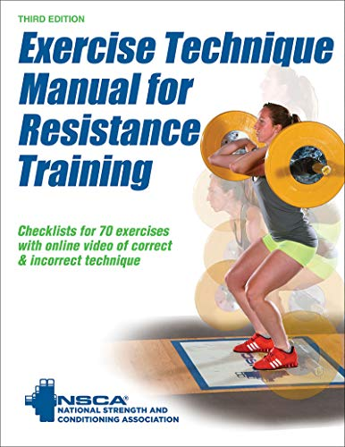 9781492506928: Exercise Technique Manual for Resistance Training 3rd Edition With Online Video