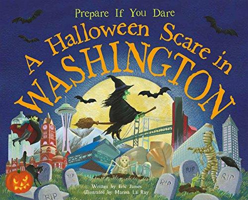 9781492606390: A Halloween Scare in Washington (Prepare If You Dare)