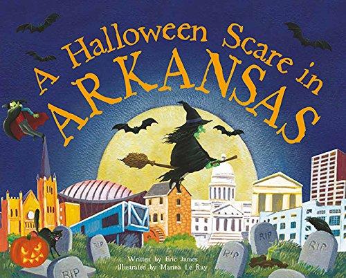 9781492623632: A Halloween Scare in Arkansas (Halloween Scare: Prepare If You Dare)