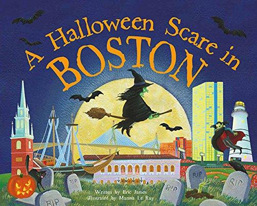 9781492623663: A Halloween Scare in Boston (Halloween Scare: Prepare If You Dare)