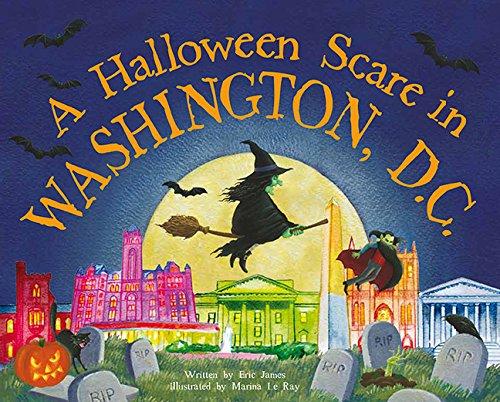 9781492624080: A Halloween Scare in Washington, DC (Prepare If You Dare)