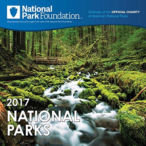9781492634362: 2017 National Park Foundation Wall Calendar