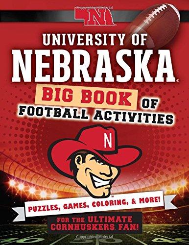 University of Nebraska: Big Book of Football Activities (Hawk's Nest Activity Books): Peg ...