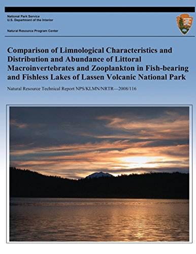 Comparison of Limnological Characteristics and Distribution and Abundance of Littoral Macroinvertebrates and Zooplankton in Fishbearing and Fishless L