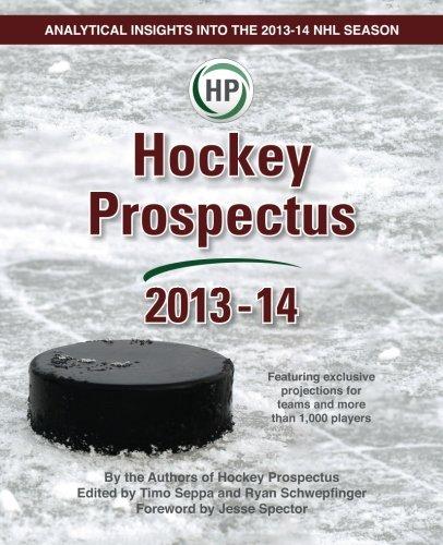Hockey Prospectus 2013-14: Hockey Prospectus
