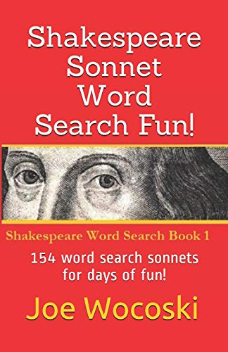 9781492729136: Shakespeare Sonnet Word Search Fun!: 154 word search sonnets for days of fun!