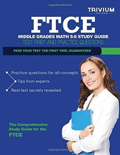 9781492766902: FTCE Middle Grades Math 5-9 Study Guide: Test Prep and Practice Questions