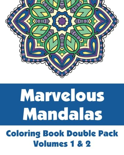 9781492782841: Marvelous Mandalas Coloring Book Double Pack (Volumes 1 & 2)