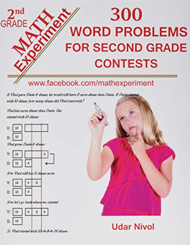 9781492793380: Math Experiment - 300 Word Problems for Second Grade Contests: Volume 1