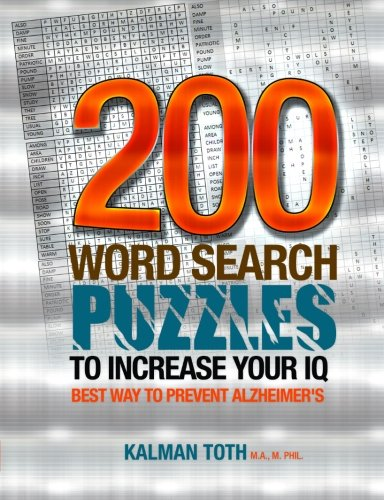 9781492801009: 200 Word Search Puzzles to Increase Your IQ