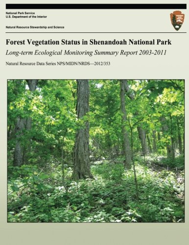 9781492804192: Forest Vegetation Status in Shenandoah National Park: Long-term Ecological Monitoring Summary Report (Natural Resource Data Series NPS/MIDN/NRDS?2012/353)