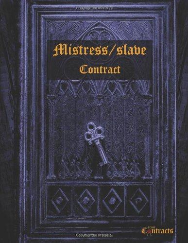 9781492818564: Mistress/slave Lesbian BDSM Contract (female slave)