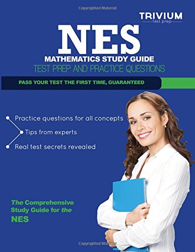 9781492823278: NES Mathematics Study Guide: Test Prep and Study Questions