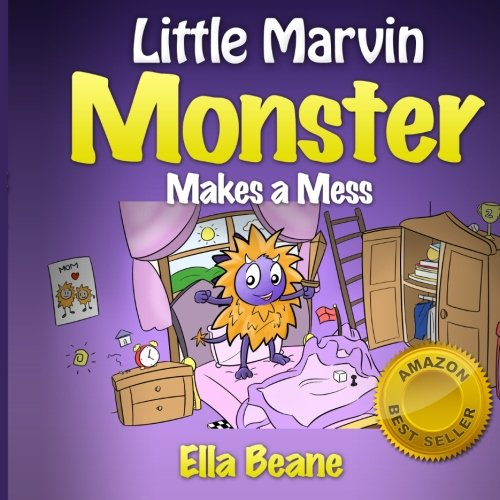9781492825340: Little Marvin Monster Makes a Mess