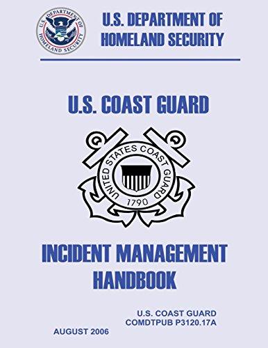 U.S. Coast Guard Incident Management Handbook: Security, U.S. Department of Homeland