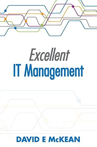 9781492872207: Excellent IT Management