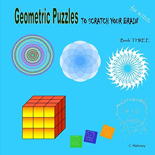 9781492874164: Geometric Puzzles to scratch your brain (Logic Games for Kids)