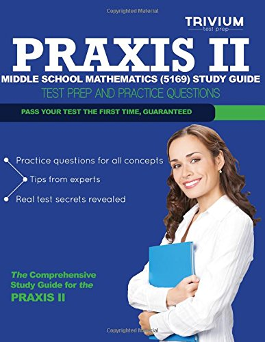 9781492875093: Praxis II Middle School Mathematics (5169) Study Guide: Test Prep and Practice Questions