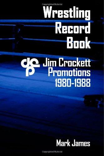 9781492894100: Wrestling Record Book: Jim Crockett Promotions 1980-1988