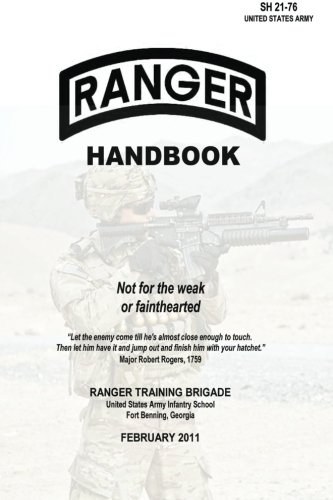 9781492913566: Ranger Handbook: Not for the Weak or Fainthearted - SH 21-76
