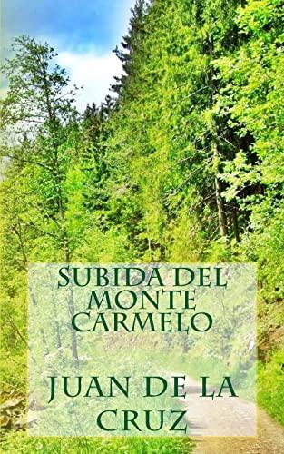 9781492930969: Subida del monte Carmelo