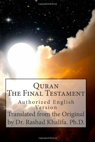 9781492943754: Quran - The Final Testament: Authorized English Version