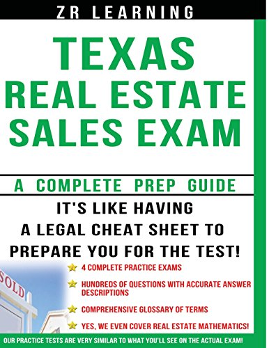 9781492949534: Texas Real Estate Sales Exam - 2014 Version: Principles, Concepts and Hundreds Of Practice Questions Similar To What You'll See On Test Day